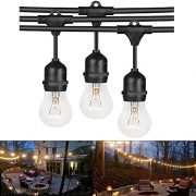 Heavy-Duty-Vintage-394-ft-Connectable-Strand-Indoor-Outdoor-Waterproof-Commercial-String-Lights-with-9-Hanging-E27-SocketsBulbs-not-included-0-0