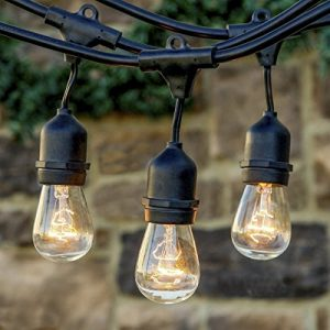 Heavy-Duty-Vintage-394-ft-Connectable-Strand-Indoor-Outdoor-Waterproof-Commercial-String-Lights-with-9-Hanging-E27-SocketsBulbs-not-included-0