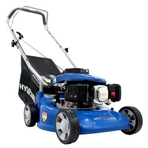 Hyundai-16-inch40-cm-99cc-Petrol-Push-Rotary-Lawn-Mower-Lightweight-and-Soft-Grip-Handle-0