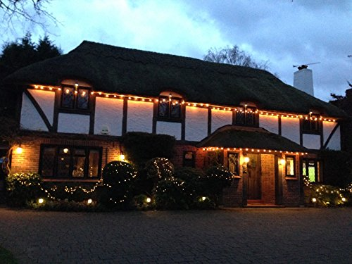 Outdoor Christmas Globe Lights