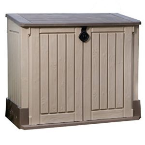 Keter-Store-It-Out-Midi-Resin-Outdoor-Garden-Storage-Shed-BeigeBrown-0