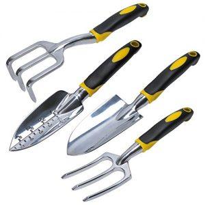 Kingstar-Gardening-Hand-tools-set-of-4-Garden-Lawn-Fork-Trowel-Weeder-Cultivator-Transplanter-0