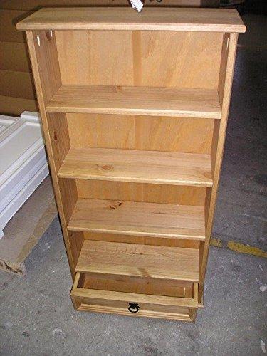 Mercers Furniture Corona 1 Drawer Dvd Bookcase Storage