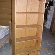 Mercers-Furniture-Corona-1-Drawer-DVDBookcase-Storage-Rack-0-2