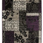 Milan-Purple-Black-Grey-Patchwork-Rug-1568-H33-10-Sizes-0-0