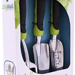 Premium-3-Piece-Garden-Tool-Set-The-Toughest-Gardening-Tools-Youll-Ever-Buy-Perfect-Gift-With-Lifetime-Warranty-Set-Includes-Trowel-Transplanter-Rake-Cultivator-PLUS-Growing-Tips-E-Book-0