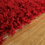 SOFT-THICK-LUXURY-WINE-SHAGGY-RUG-9-SIZES-AVAILABLE-0-3