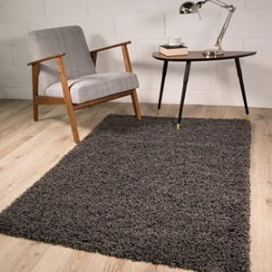 SUPER-SOFT-LUXURY-GREY-SHAGGY-RUG-5-SIZES-AVAILABLE-0