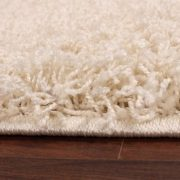 Shaggy-Rug-High-Pile-Long-Pile-Modern-Carpet-Uni-Cream-Ivory-0-0
