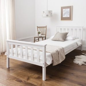 Single-Bed-in-White-3ft-Single-Bed-Wooden-Frame-WHITE-Dorset-0