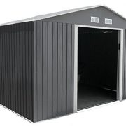 SpaceHuts-10x8-8x8-8x6-Metal-Garden-Storage-Shed-with-Free-Foundation-0-0