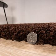 Stockholm-Luxury-Chocolate-Brown-Dense-Pile-Soft-Shaggy-Rug-0-0