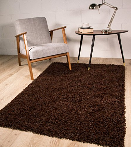 Stockholm-Luxury-Chocolate-Brown-Dense-Pile-Soft-Shaggy-Rug-0