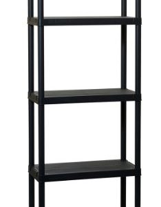 TOOMAX-180-x-60-x-30cm-Universal-Shelving-63-5-Maxi-Shelf-Unit-with-5-Shelves-Black-0