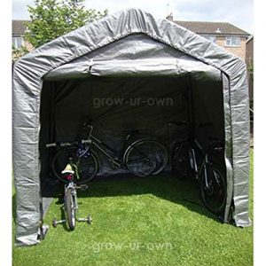 Waterproof-Motor-Bike-Bicycle-Cover-Storage-Shed-Outdoor-Tent-Garage-Barn-Width-244m-x-Depth-18m-x-Height-21m-SHED-01-UK-0