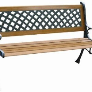 2-PERSON-CLASSIC-7-SLAT-HARDWOOD-WOODEN-GARDEN-BENCH-0