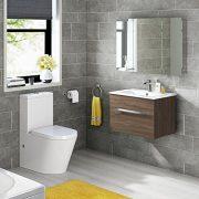 600-x-900-Stainless-Steel-Bathroom-Mirror-Cabinet-Modern-Triple-Door-Storage-Unit-0-1