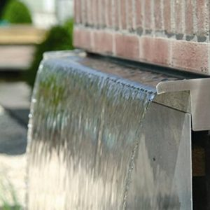 60cm-Dual-Entry-Stainless-Steel-Water-Blade-Garden-Patio-Water-Feature-0