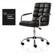 ALK-PU-Leather-Heavy-Duty-Adjustable-Swivel-Office-Chair-0-4