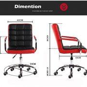 ALK-PU-Leather-Heavy-Duty-Adjustable-Swivel-Office-Chair-0-5