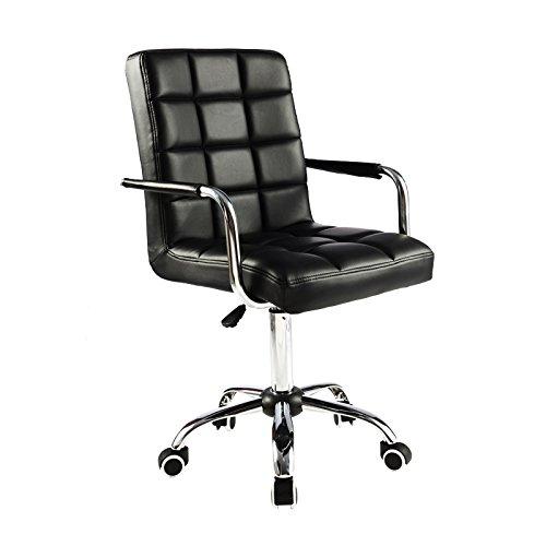 ALK-PU-Leather-Heavy-Duty-Adjustable-Swivel-Office-Chair-0