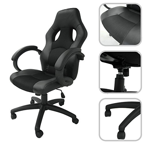 Adjustable-faux-leather-office-chair-with-black-mesh-material-reclining-office-chair-0