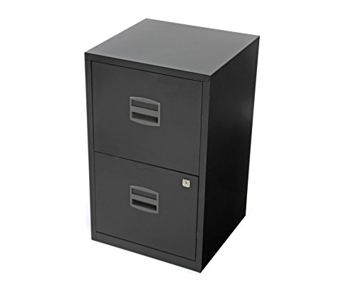 Bisley-Filing-Cabinet-2-Drawer-A4-H660xW400xD400mm-Steel-0