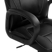 Brand-New-Design-Swivel-PU-Leather-Brown-Black-Color-Office-Chair-0-3