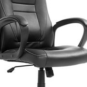 Brand-New-Design-Swivel-PU-Leather-Brown-Black-Color-Office-Chair-0-4