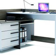 Brand-New-Modern-Corner-3-Drawer-Dark-Office-DeskTable-Thales-0-0