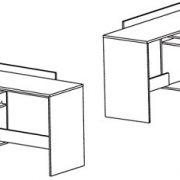 Brand-New-Modern-Corner-3-Drawer-Dark-Office-DeskTable-Thales-0-1