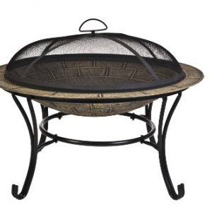 CobraCo-FB6102-Round-Cast-Iron-Brick-Finish-Fire-Pit-Bowl-0