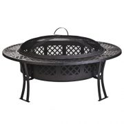 CobraCo-FB8008-Diamond-Mesh-Fire-Pit-with-Screen-and-Cover-0-0