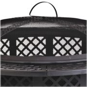 CobraCo-FB8008-Diamond-Mesh-Fire-Pit-with-Screen-and-Cover-0-1