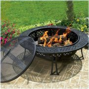 CobraCo-FB8008-Diamond-Mesh-Fire-Pit-with-Screen-and-Cover-0-4