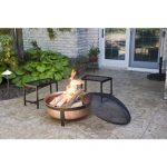 Cobraco Hand Hammered With Copper Fire Pit Tub House And
