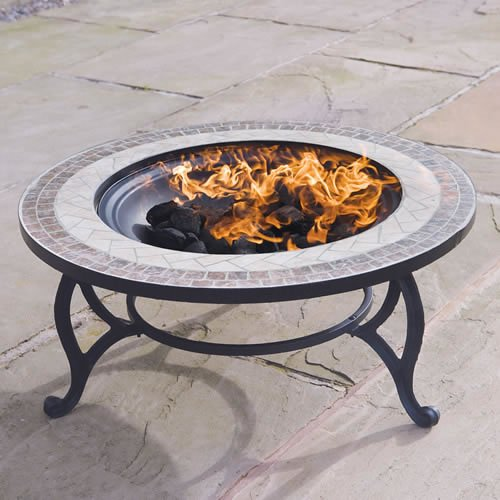 Combined Fire Pit 76cm And Coffee Table Quot Beacon Star