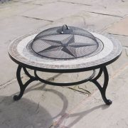 Combined-Fire-Pit-76cm-and-Coffee-Table-Beacon-Star-BBQ-Grid-Spark-Guard-Poker-Weather-Cover-0-3