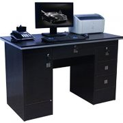 Computer-Desk-in-Black-Beech-White-Walnut-Oak-With-3-Locks-4-Home-Office-0-0