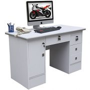 Computer-Desk-in-Black-Beech-White-Walnut-Oak-With-3-Locks-4-Home-Office-0-2