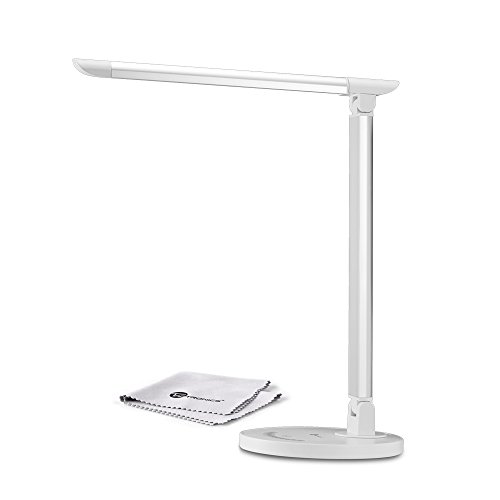 Desk-Lamp-TaoTronics-LED-Table-Lamps-Dimmable-Touch-Eye-Care-with-USB-Charger-Port-0