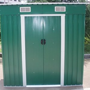 Dirty-Pro-ToolsTM-NEW-METAL-GARDEN-SHED-6-X-4-with-free-base-Please-note-delivery-will-be-26th-September-0