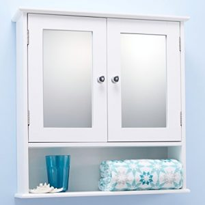 Double-Door-White-Bathroom-Mirror-Cabinet-Mirrored-Bathroom-Cabinet-0
