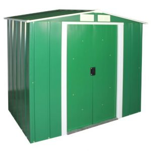 Duramax-6-x-4ft-Eco-Metal-Shed-with-OW-Trim-Green-0