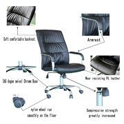 EBS-Modern-Swivel-PU-Leather-Executive-High-Chrome-Base-Office-Furnitue-Computer-Desk-Chair-Black-0-3