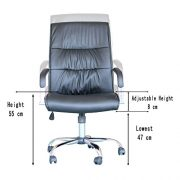EBS-Modern-Swivel-PU-Leather-Executive-High-Chrome-Base-Office-Furnitue-Computer-Desk-Chair-Black-0-4