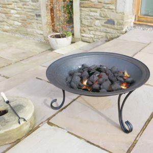 Fire-Pit-69-cm-diam-Flamba-Spark-Guard-Poker-Rain-Cover-0