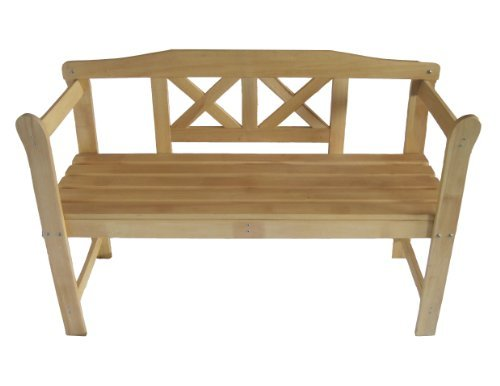 FoxHunter-New-Outdoor-Indoor-Home-2-Seat-Seater-Wood-Wooden-Garden-Bench-Hardwood-Furniture-Picnic-Patio-Park-0