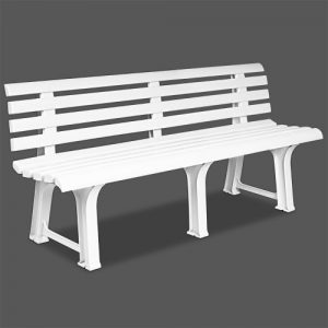 Garden-Bench-Outdoor-Seater-Terrace-Furniture-white-Balcony-durable-weatherproof-Bench-Orchidee-0