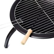 Home-Discount-Fire-Pit-Steel-Folding-Outdoor-Garden-Patio-Heater-Grill-Camping-Bowl-BBQ-With-Poker-Grill-Cover-Grate-0-1